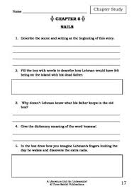 unit unbearable paul jennings study worksheets