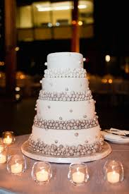 wedding cake silver balls wedding cakes cairns port douglas palm