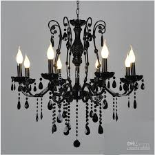 European Ceiling Lights Best European Black Wrought Iron Light 6 8 Candle Lights