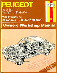 peugeot shop service manuals at books4cars com