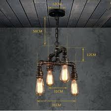 industrial hanging light fixtures edison pendant light fixtures water pipe loft style l pendant