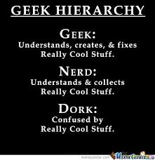Geek Birthday Meme - geek nerd dork by michael chane meme center