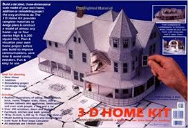 3 d home kit all you need to construct a model of your own home