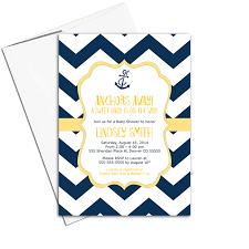 nautical baby shower invitations gender neutral baby shower invitations