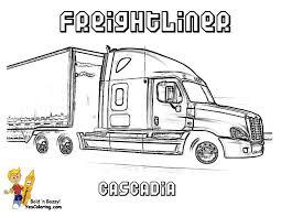 stone cold coloring trucks trucks free 18 wheelers