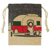 burlap gift bags cer trailer burlap gift bag wondershop target