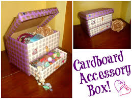 diy cardboard accessory box 5 steps