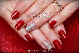 gelish christmas nails funky fingers factory part 2