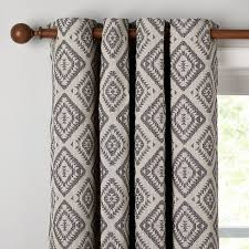 john lewis native weave lined eyelet curtains john lewis
