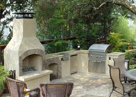 Backyard Fireplace Ideas Outdoor Fireplace Kits Masonry Fireplaces Intended For Outdoor