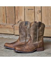 ariat mens rambler square toe boot earth western boots