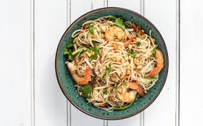 lemongrass scented rice noodle salad satisfies your summer