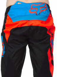 short motocross boots fox black orange 2017 180 falcon mx pant fox freestylextreme