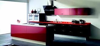 modern kitchen 2014 cocina negra y roja proyecto gandía cocinas quivir pinterest