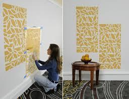 ideen wandgestaltung farbe wände streichen 24 kreative ideen mit wandschablonen inkl anleitung