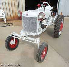 1950 farmall cub demonstrator tractor item dk9373 sold