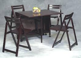 Folding Dining Table With Chair Storage Foldaway Tables And Chair Impressive On Folding Dining Table With