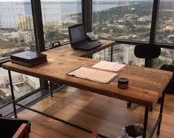 Small Computer Desk Wood Computer Desk Etsy