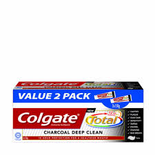 colgate charcoal deep clean toothpaste 2x150g 2x150g lazada malaysia
