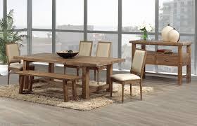 rustic modern dining room furniture dining room decor