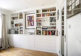 Gorgeous Built In Cupboards In Your Living Room - Contemporary fitted living room furniture