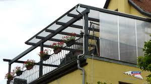 windschutz balkon plexiglas ein alu terrassendach der marke rexoclassic 8m x 4m in anthrazit