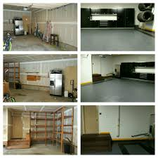 Garage Remodel Garage Remodel Floors Walls And Cabinets New And Existing Homes