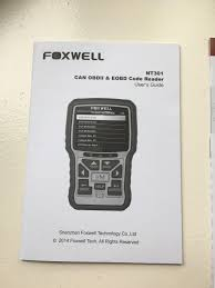 foxwell nt301 obd2 code reader is a scanner for gear heads