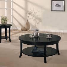 Livingroom Table Sets Elegant Black Coffee Table Sets For Living Room
