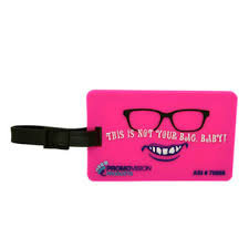 Teh Litgis china soft rubber luggage and bag tag made of phthalate free soft