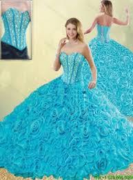 aqua quince dresses 2016 exquisite aqua blue quinceanera dresses with beading