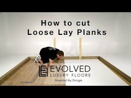 how to install vinyl plank flooring how to cut a plank against