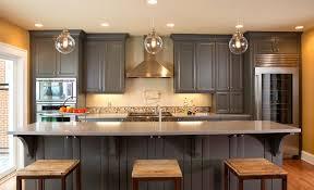 image of edison bulb light fixtures kitchen