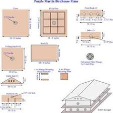 free building plans purple martin bird house plans 16 units pdf martin