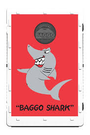 Shark Bean Bag Baggo Shark Screens Only By Baggo