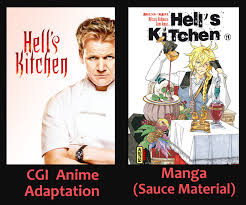 Hells Kitchen Meme - hell s kitchen anime adaptation gordon ramsay know your meme