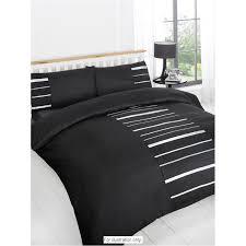 Double Duvet Set Duvet Cover Black Embellished Easy Duvet Cover Black For Double