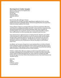 10 cover letter for nursing job biodate format