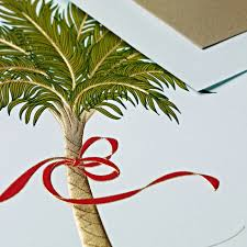 palm tree christmas card learntoride co