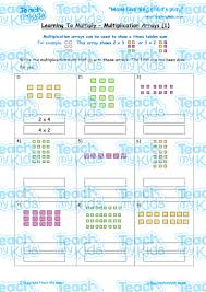 learning to multiply multiplication arrays 1 teach my kids