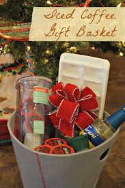coffee gift basket ideas iced coffee gift basket ideas desert chica