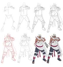step by step killer bee by johnny wolf on deviantart