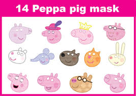 peppa pig template printable peppa pig birthday invitations free
