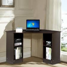 yaheetech modern home office corner l shaped computer desk with