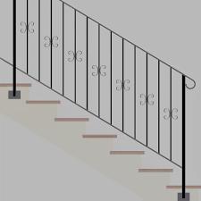 ringhiera per scala ringhiere prezzi on line ringhiere recinzioni parapetti per