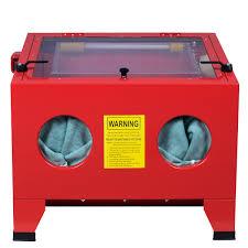 25 gallon bench top sandblasts cabinet air sand blaster sand blast