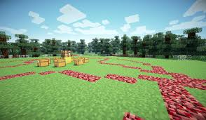 Hunger Games Minecraft Map Old Screenshot I Found Of The 1st Map W Shaders Mcsg