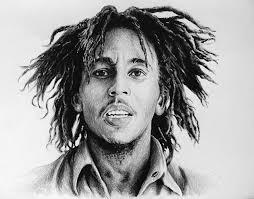 drawing of bob hair bob marley drawing by andrew read