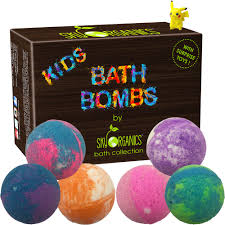 bath bombs with surprises inside