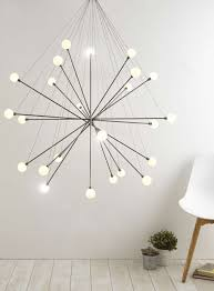 Sputnik Ceiling Light Nickel Jiro Large Sputnik Pendant Light Bhs Light Pinterest
